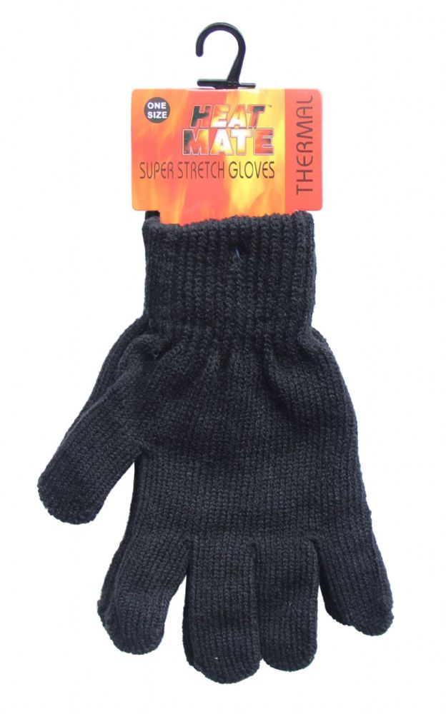 Thermal knitted brushed inside Magic gloves